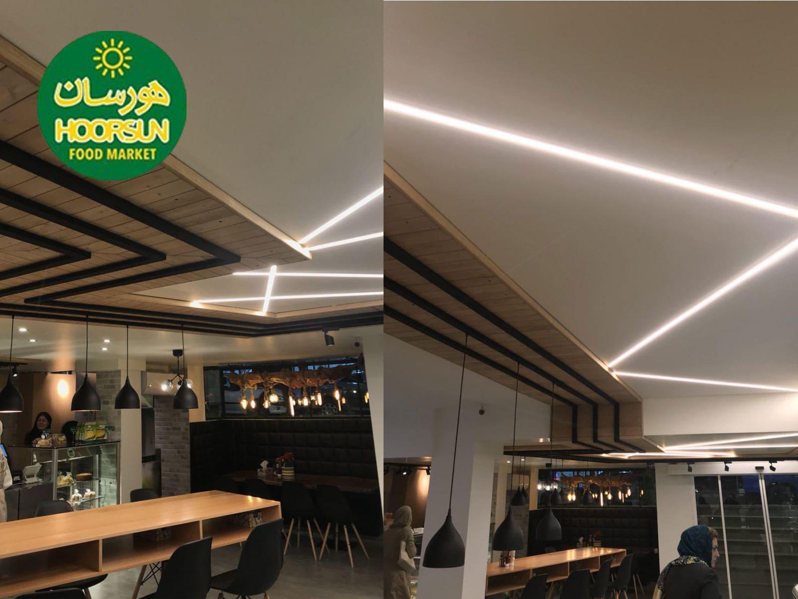 پروژه نورپردازی   طراحی نورپردازی   نورپردازی گالری   شرکت نورپردازی   چراغ ریلی   نورپردازی آتلیه   نورپردازی رستوران