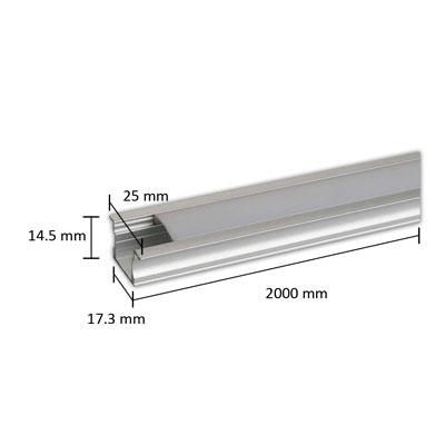 چراغ خطی توکار مدل L04