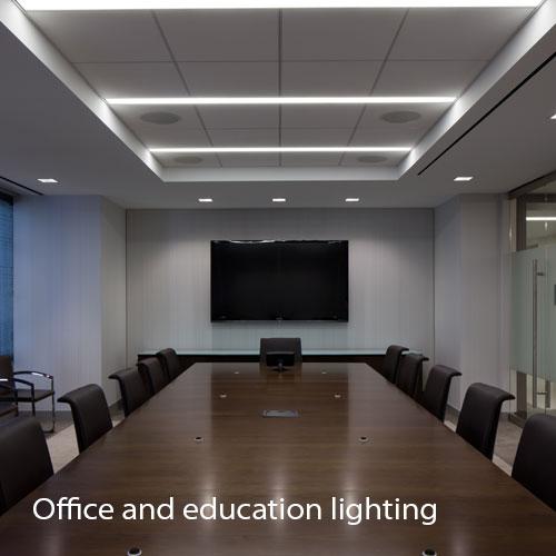 نورپردازی اداری | نورپردازی آموزشی | نور در محیط اداری | طراحی نورپردازی