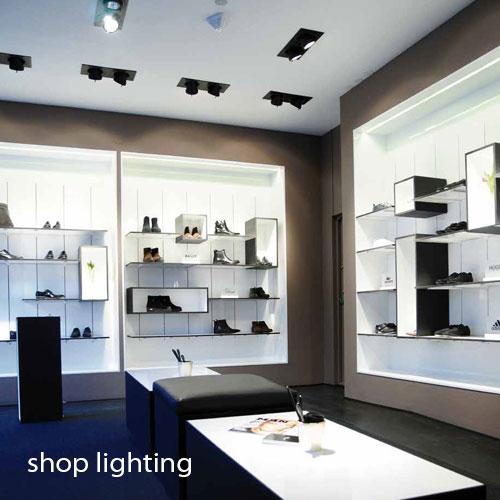 نورپردازی فروشگاه | نورپردازی تجاری | نورپردازی مرکز خرید | نورپردازی اداری تجاری