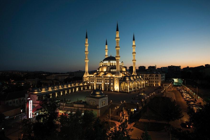 نورپردازی مسجد نور کریکاله