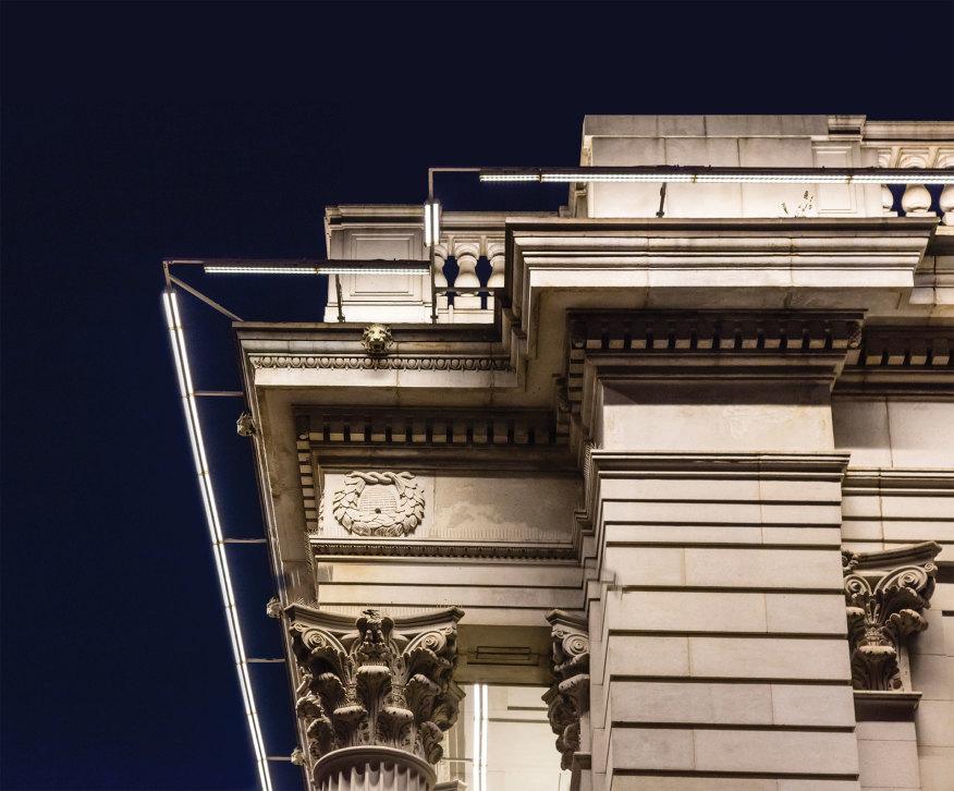 نورپردازی ساختمان Urban GEM | نورپردازی معماری | نور در معماری | معماری نور | طراحی نورپردازی