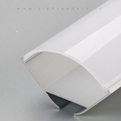 چراغ توکار بدون فریم مدل C1R375