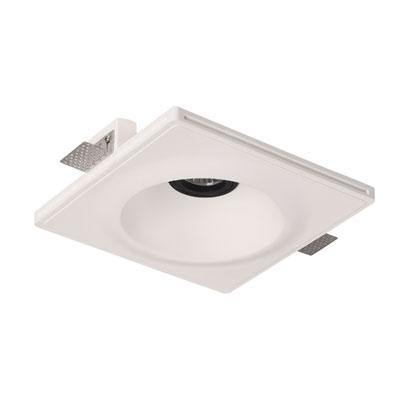 چراغ گچی ، چراغ گچی مدل C1SQ22 ، چراغ توکار بدون لبه ، چراغ بدون لبه ،محصولات line and design ، چراغ line & design ، محصولات line & design