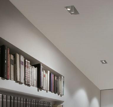 چراغ توکار بدون فریم مدل C1SQ17 ، چراغ گچی ، چراغ توکار بدون لبه ، چراغ بدون لبه ،محصولات line and design ، چراغ line & design ، محصولات line & design