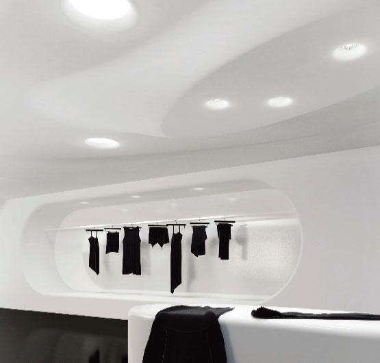 چراغ توکار بدون فریم مدل C1SQ12 ، چراغ گچی ، چراغ توکار بدون لبه ، چراغ بدون لبه ،محصولات line and design ، چراغ line & design ، محصولات line & design