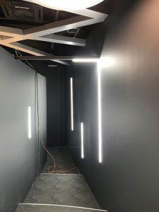 پروژه چراغ خطی سازمان راهبردی | پروژه نورپردازی | چراغ خطی | نورخطی | چراغ های خطی | چراغ خطی توکار | چراغ خطی روکار | چراغ خطی آویز