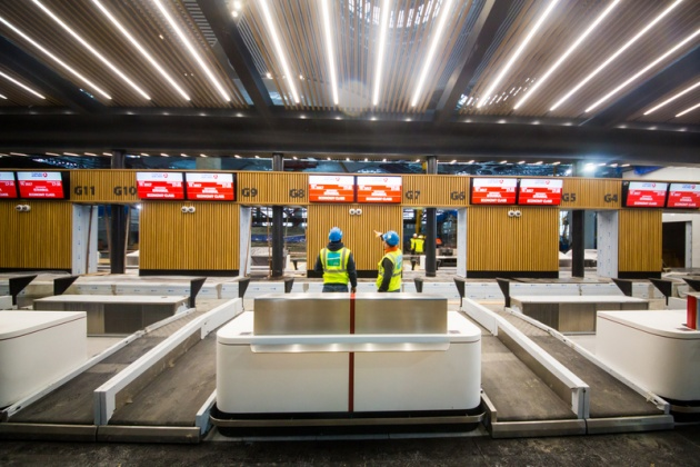 بررسی نورپردازی فرودگاه استانبول، چراغ خطی، چراغ سقفی، چراغ سقفی توکار، نور خطی، چراغ سقفی ال ای دی